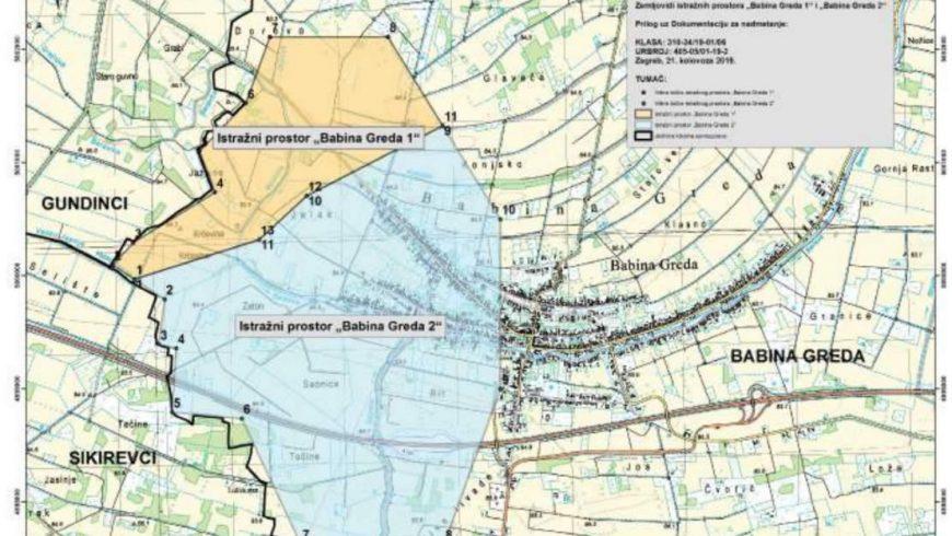 """Analiza i interpretacija podataka snimljenih 2D seizmičkih profila iz geoloških informacija iz okolnih bušotina te na temelju rezultata interpretacija lociranje istražne bušotine u istražnom prostoru """"Babina Greda 2"""""""